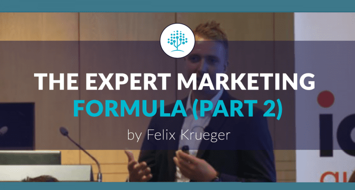 The Expert Marketing Formula – findings from 7 years of battling for B2B content marketing relevance (part 2)